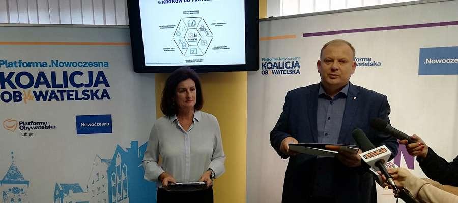 Grażyna Kluge i MichałMissan