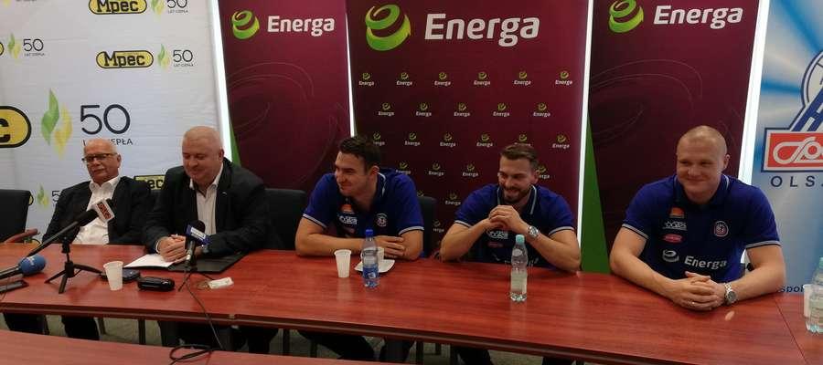 Przedsezonowa konferencja Warmii Energi Olsztyn