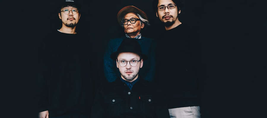 Tomasz Dąbrowski z japońskim kwartetem AD HOC