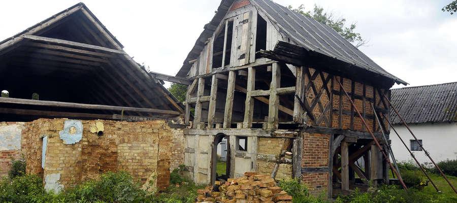 Dom podcieniowy w Kamionku Wielkim
