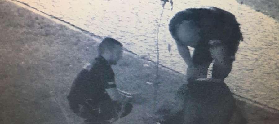 Zdjęcie z miejskiego monitoringu