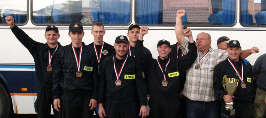 OSP Janowo na podium VI Wojewódzkich Zawodów Sportowo-Pożarniczych w Lidzbarku Warmińskim