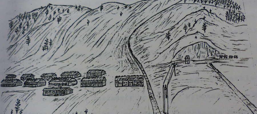 Wspomnienia są ilustrowane oryginalnymi rysunkami z miejsca zesłania