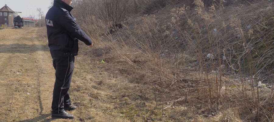 W marcu 32-latek w tym miejscu porzucił bestialsko zabitego psa