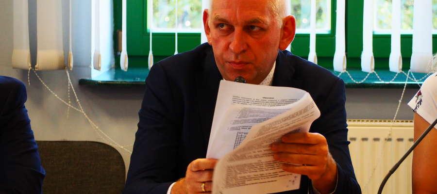 Prokurator zlecił, żeby jeszcze raz uzupełniająco przesłuchać burmistrza