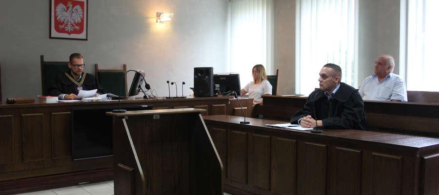 Radny gminy Kuczbork usłyszał wyrok w piątek 24 sierpnia