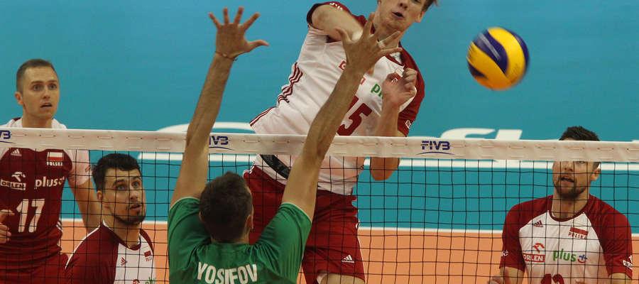 Jakub Kochanowski zdobył w meczu z Bułgarią osiem punktów