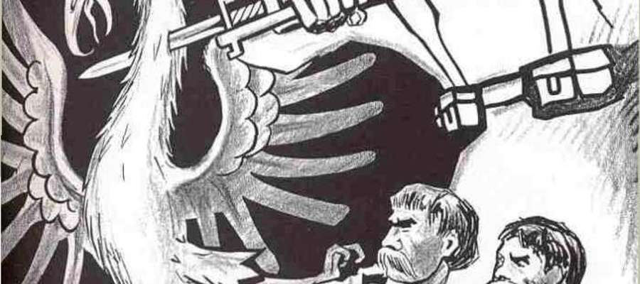 Sowiecki plakat propagandowy z jesieni 1939 roku