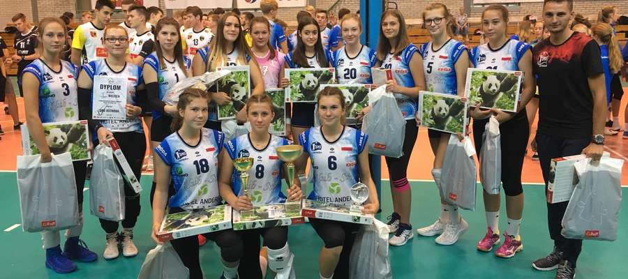 Kadetki SMS Ostróda wygrały turniej Baltic Volleyball Cup w Gdańsku