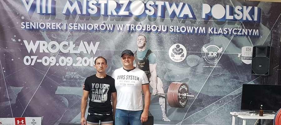 Panowie Karol i Mirosław na mistrzostwach we Wrocławiu