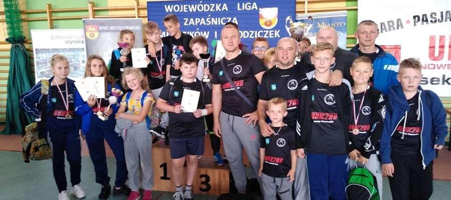 Teodor Sadowski został najlepszym zawodnikiem I Rzutu Ligi Międzyszkolnej Warmii i Mazur w Nowym Mieście Lubawskim