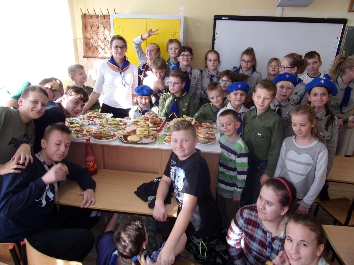 Efekty akcji w szkole w Ostrowitem