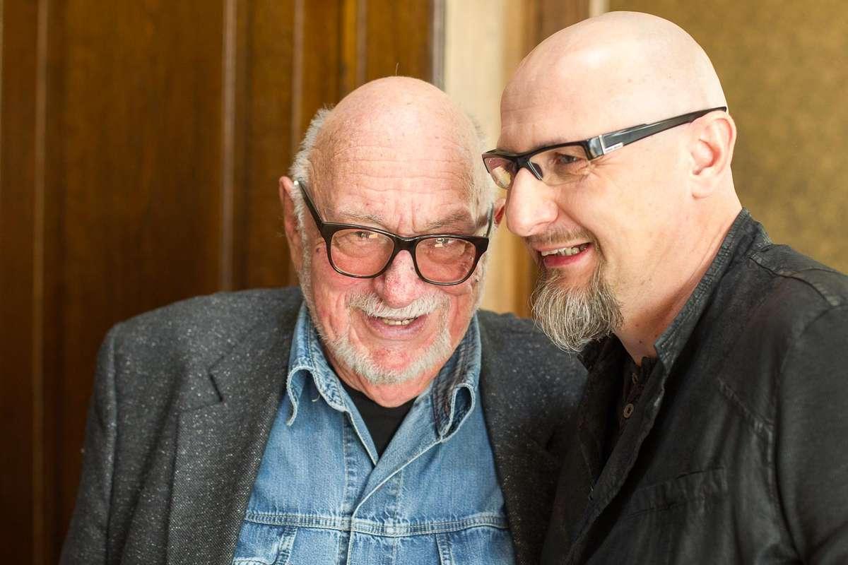 Jerzy Hoffman i Marcin Bastkowski - full image