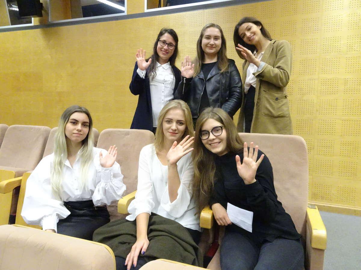 Agnieszka Michalska i jej koleżanki zaczynają  studia na UWM