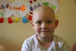 Oliwia z Olsztyna była zawsze okazem zdrowia. Teraz jest na II etapie chemioterapii