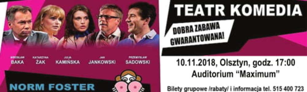 """Zapraszamy na spektakl """"Ostra Jazda z gwiazdami kina..."""