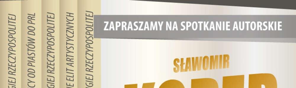 Sławomir Koper spotka się w Olsztynie z czytelnikami