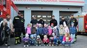Przedszkolaki odwiedziły braniewskich strażaków