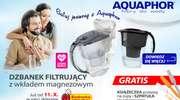 Dzbanki filtrujące wodę Aquaphor. Sprawdź w najbliższej Biedronce