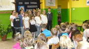 Apel z okazji Dnia Papieskiego w szkole w Zajączkowie