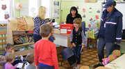 Wizyta listonosza w przedszkolu w Galinach