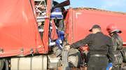 Trzy ciężarówki zderzyły się pod Olsztynem. Jeden z kierowców nie żyje [ZDJĘCIA, VIDEO, AKTUALIZACJA]