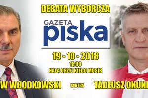 OFICJALNIE. Debata Włodkowski-Okuniewski już w piątek!