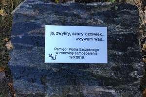Rocznica samospalenia Piotra Szczęsnego. Uczczą jego pamięć w Elblągu