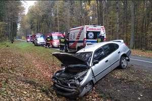 Wypadek na DK-51. 75-letnia kobieta została ranna