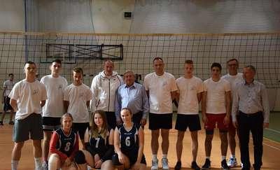 II Powiatowy Turniej Piłki Siatkowej Pracowników oraz Uczniów Szkół Ponadgimnazjalnych