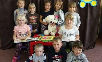 Urodziny  Książkowego Misia w Przedszkolu Samorządowym w Kowalach Oleckich