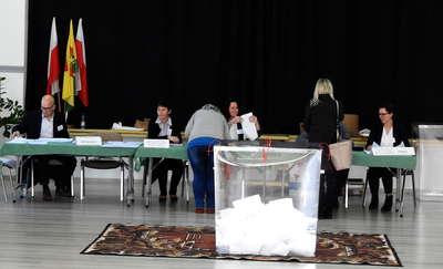 Odwiedzaliśmy lokale wyborcze na terenie powiatu nowomiejskiego