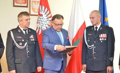"""Arkadiusz Piechociński uznany za """"Strażaka Miesiąca Września 2018"""""""