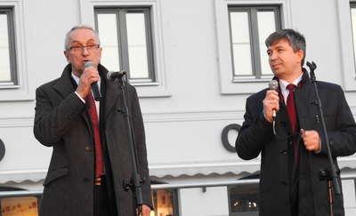Debata wyborcza w PDK-u i spotkanie na placu Daszyńskiego