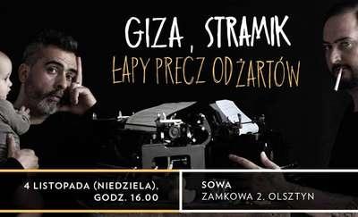 """Spotkanie autorskie: Giza i Stramik """"Łapy precz od żartów"""""""