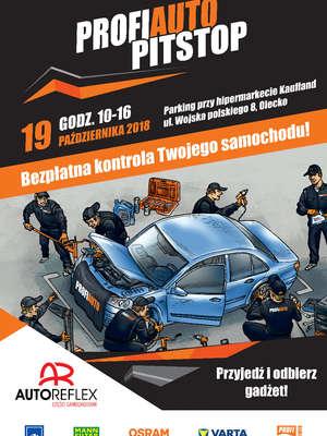 PitStop Olecko: bezpłatna kontrola samochodów