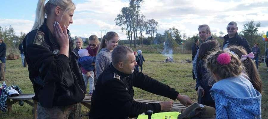 Demonstracja sprzętu Straży Granicznej cieszyła się dużym zainteresowaniem