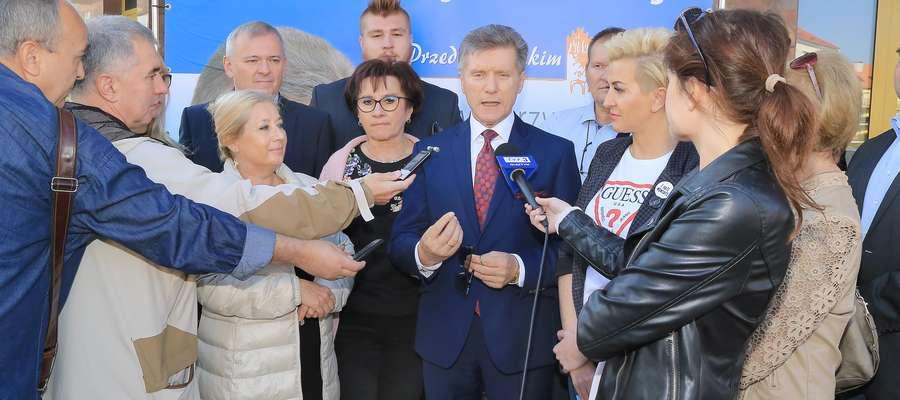 Czesław Jerzy Małkowski wystosował list otwarty do mieszkańców Olsztyna.