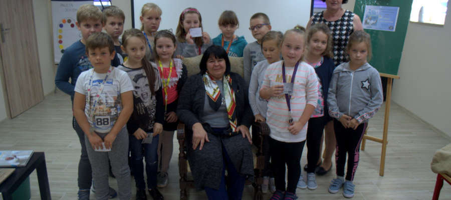 Uczniowie spotkali się z autorka książek Jolantą Reisch – Klose