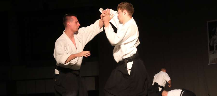 Pokaz aikido podczas Festiwalu Sztuk Walki
