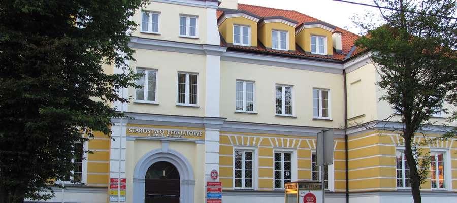 Siedziba Starostwa Powiatowego w Lidzbarku Warmińskim