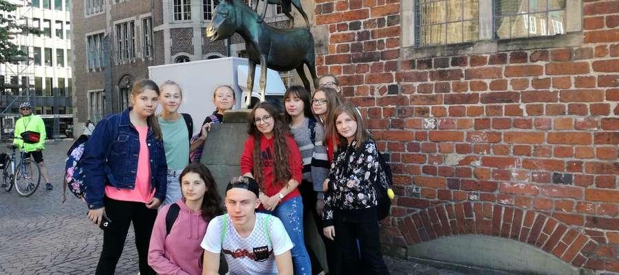Pamiątkowe zdjęcie z pobytu w Niemczech