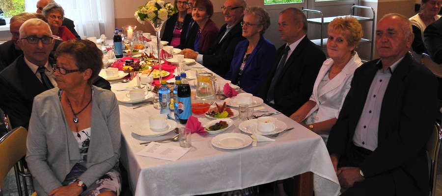 Uczestnicy spotkania w Mszanowie