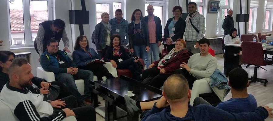 Kurzętniccy nauczyciele mieli okazję spotkać się z pedagogami z różnych krajów