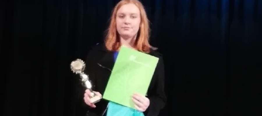 Klaudia zajęła drugie miejsce w Wąbrzeźnie