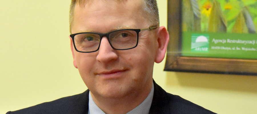 Dr Marcin Kazimierczuk, z-ca dyrektora Warmińsko-Mazurskiego Oddziału Regionalnego ARiMR
