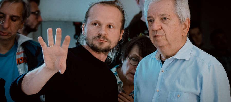 Juliusz Machulski i Paweł Dyllus