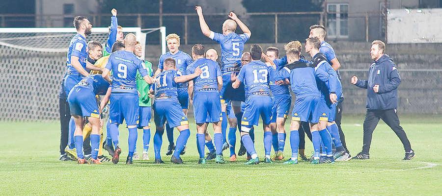 Olimpia Elbląg wreszcie wygrała mecz w II lidze