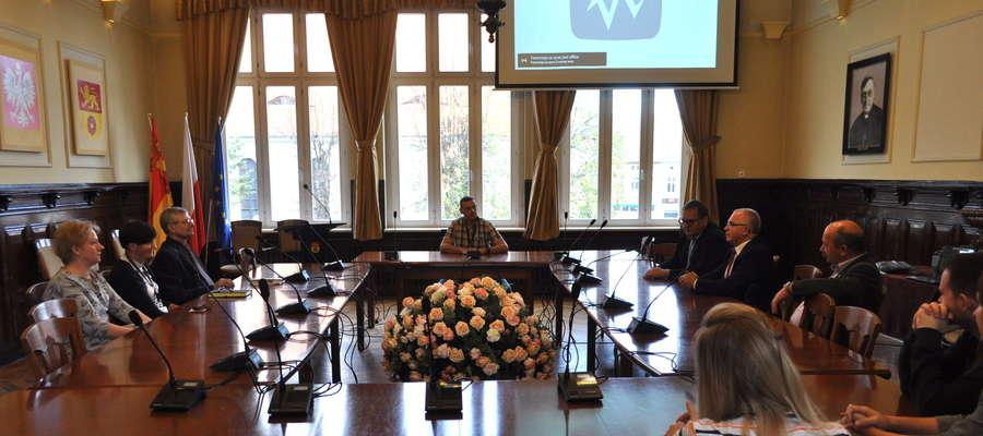 Spotkanie szkoleniowe pracowników urzędu w programie e-sesja
