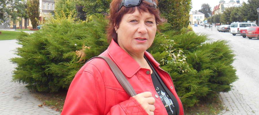 Iwona Gawińska jest prezesem ZNP oddziału w Iławie